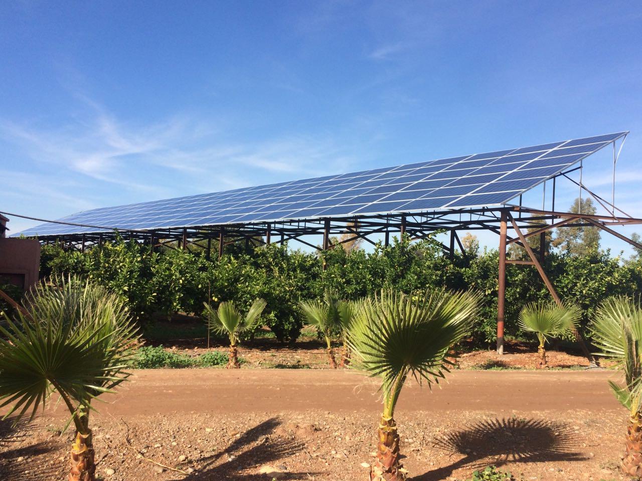 pompage solaire couplage injection et site isolé