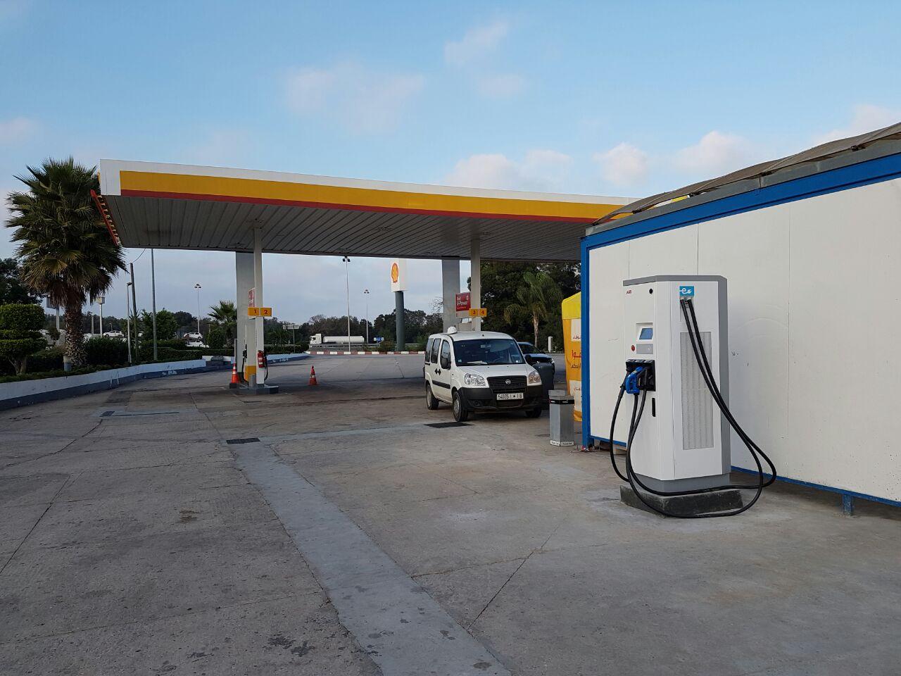 Borne de recharge pour véhicules électrique ABB Maroc