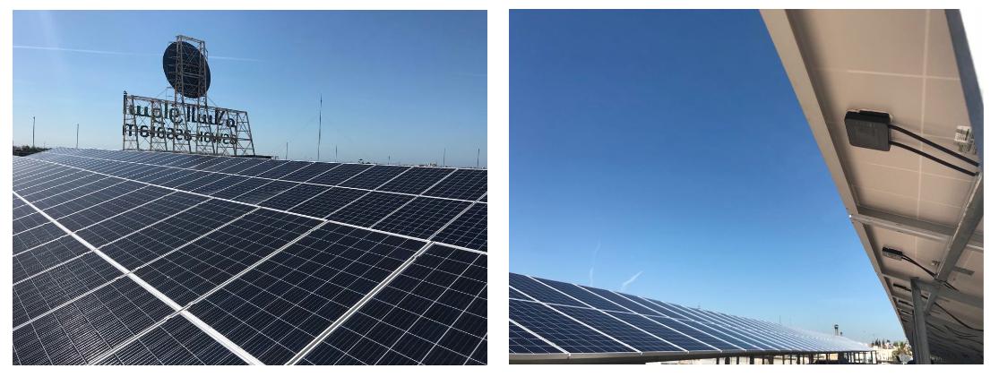 Econosol - système solaire photovoltaïque Aswak Salam Rabat