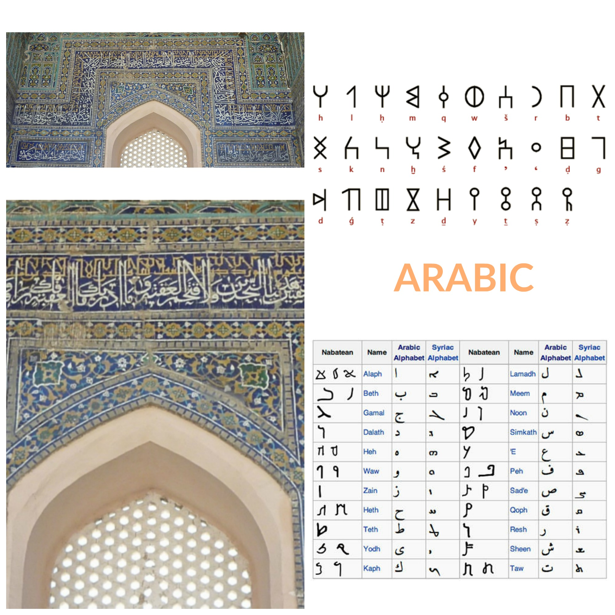 ARABIC COLLAGE