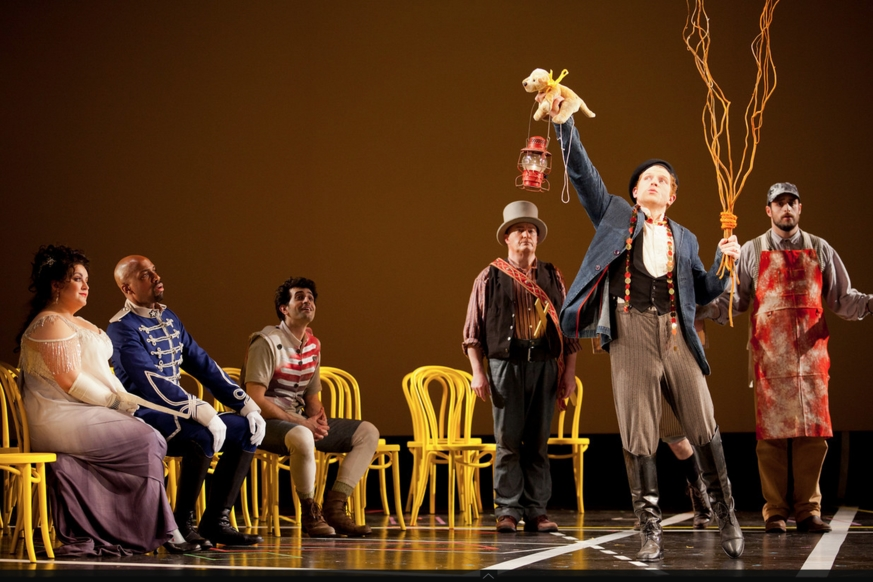 Hippolyta in  Midsummer Night's Dream  Boston Lyric Opera, 2011 Photo by    Boston Photographer    Erik Jacobs