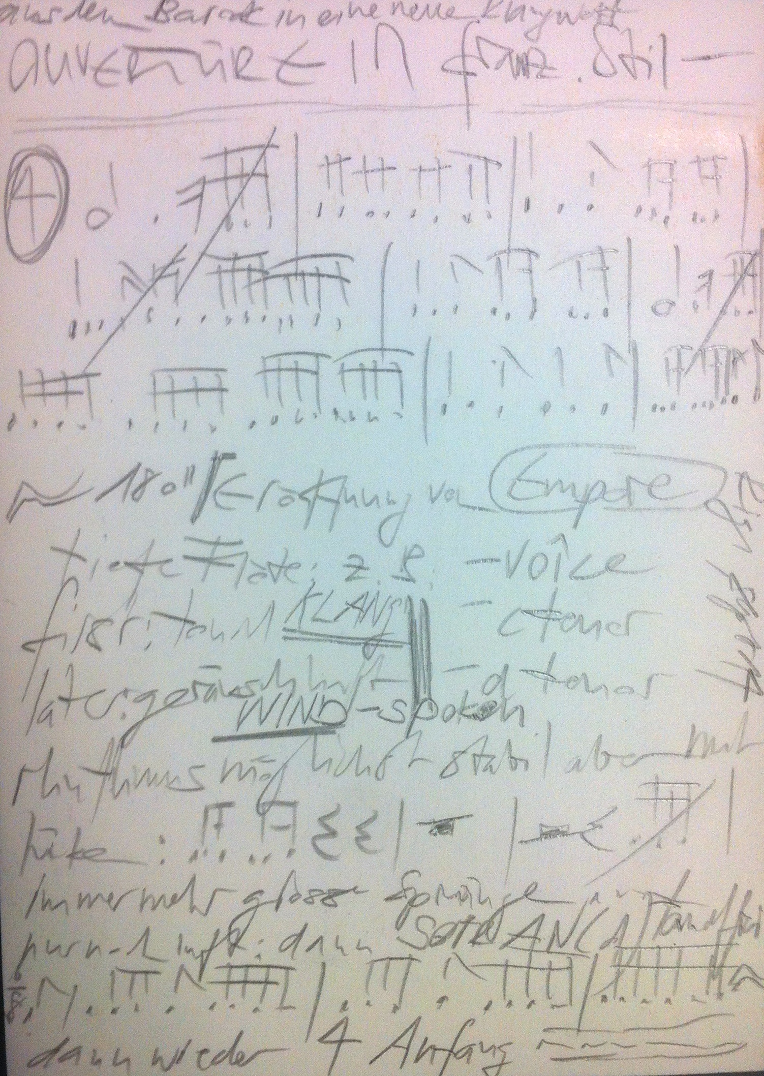 improvisations-konzept - hier zu lesen - zu hören auf der rigi am 21. september 14