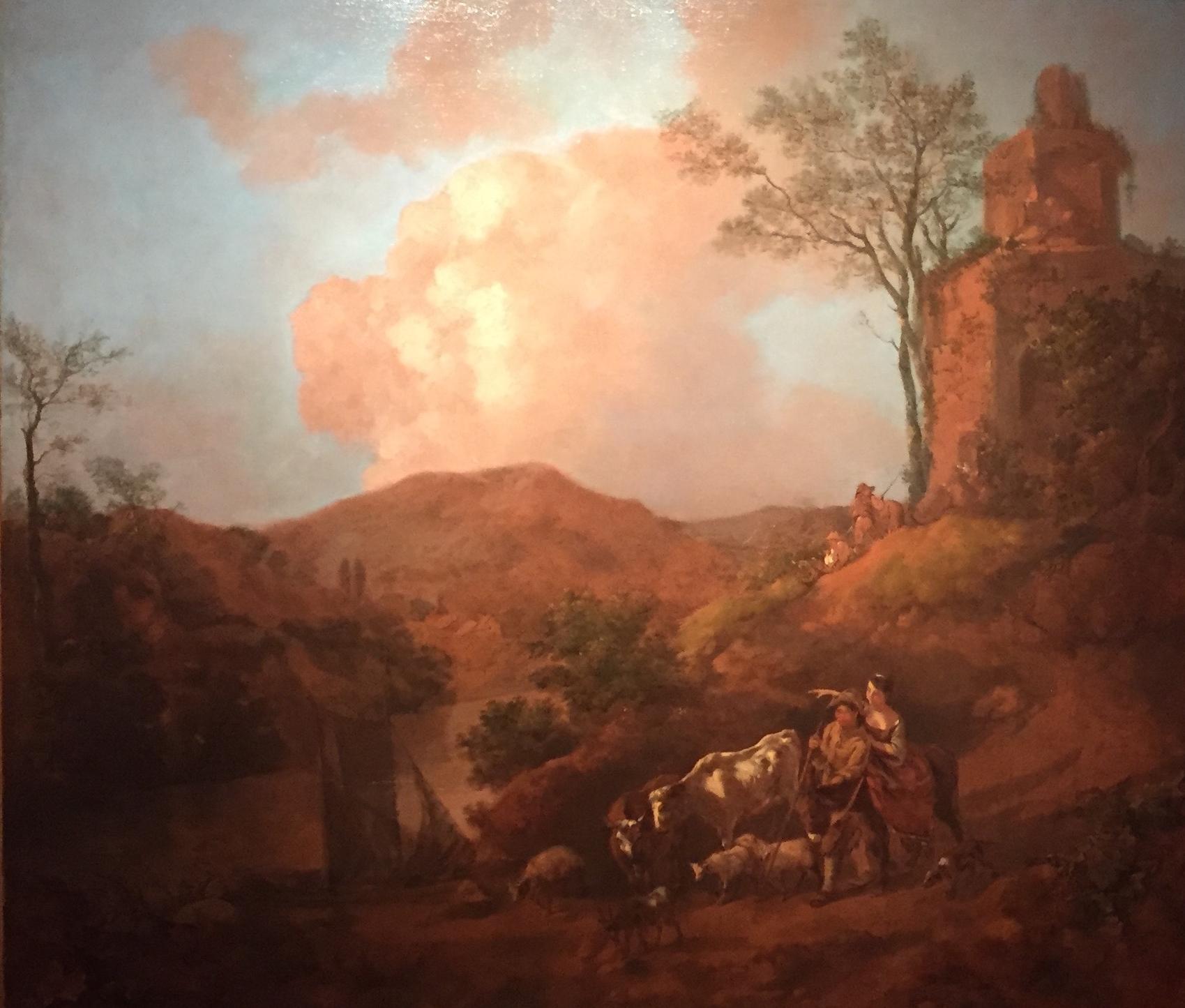 Thomas Gainsborough R.A (1727-1788) Mountainous River Landscape