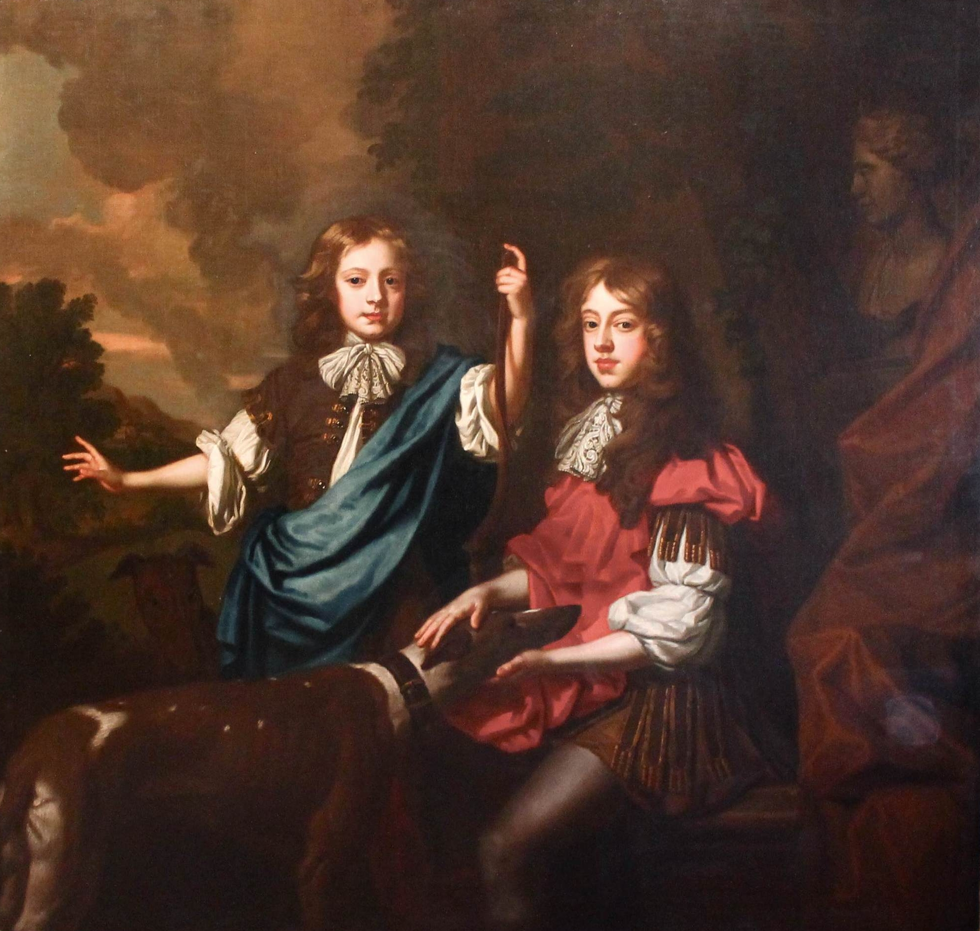Willem Wissing (1656-1687) The Lennard Double Portrait c.1675