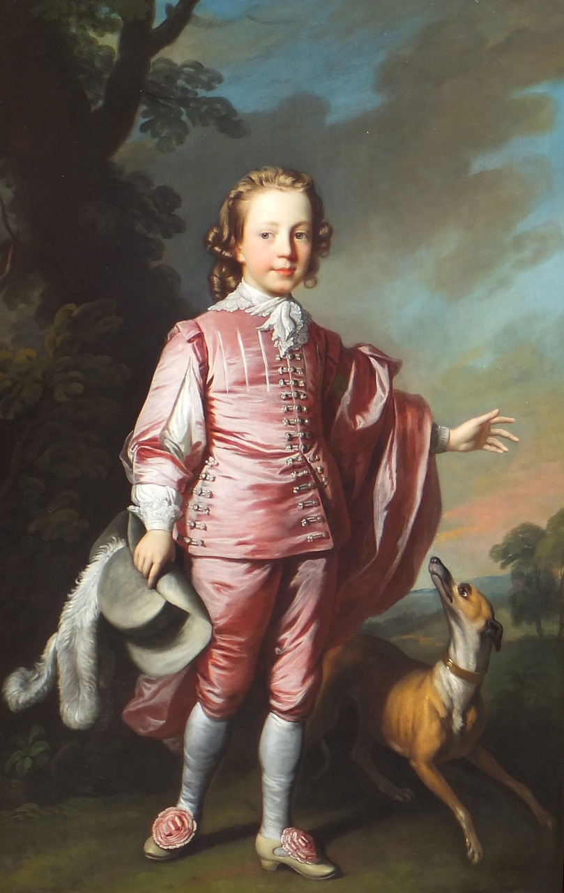 Portrait of Master John Prideaux Bassett  Allan Ramsay 1713-1784
