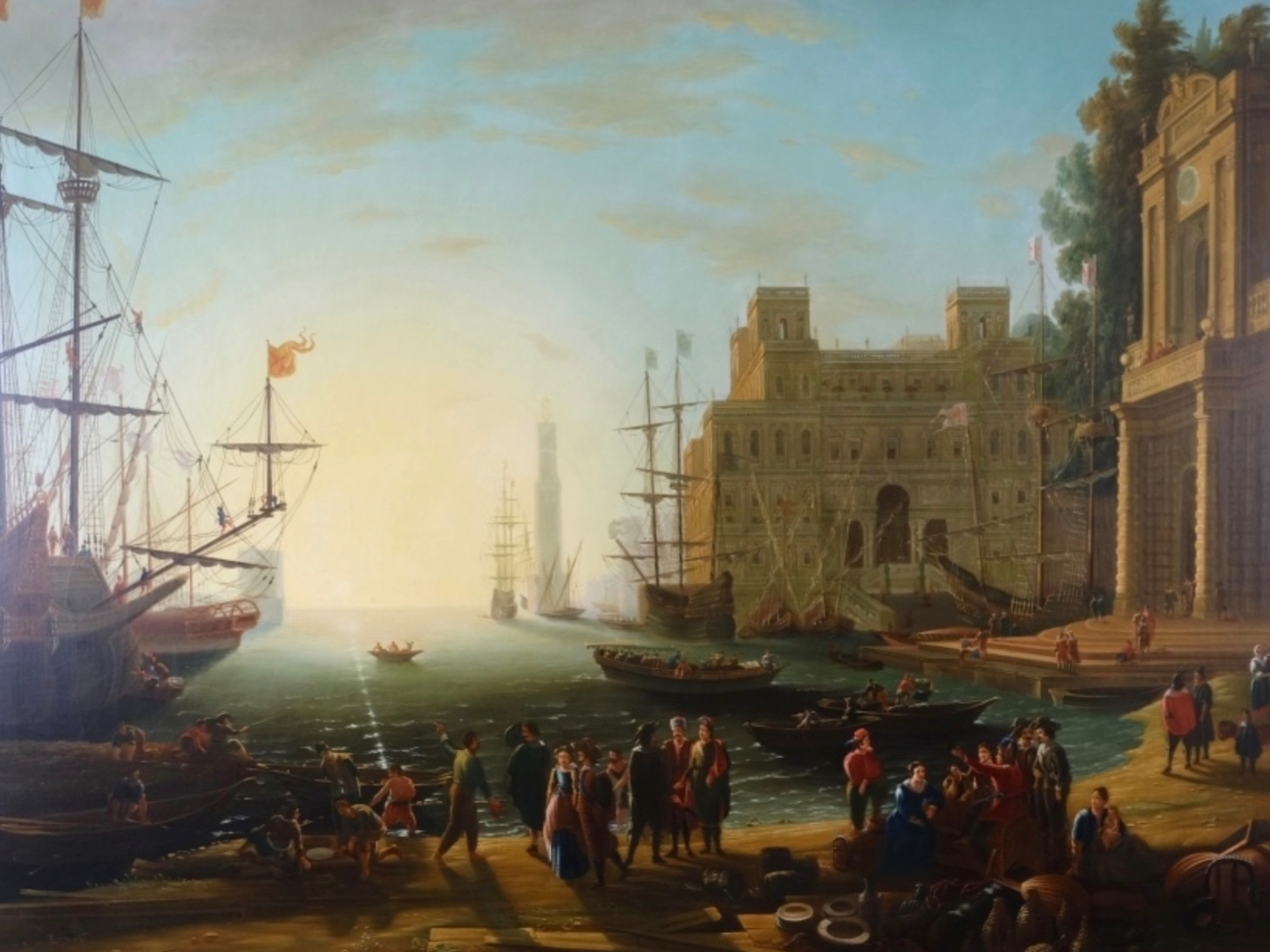 AFTER CLAUDE LORRAIN (CIRCA. 1604 - 1682)