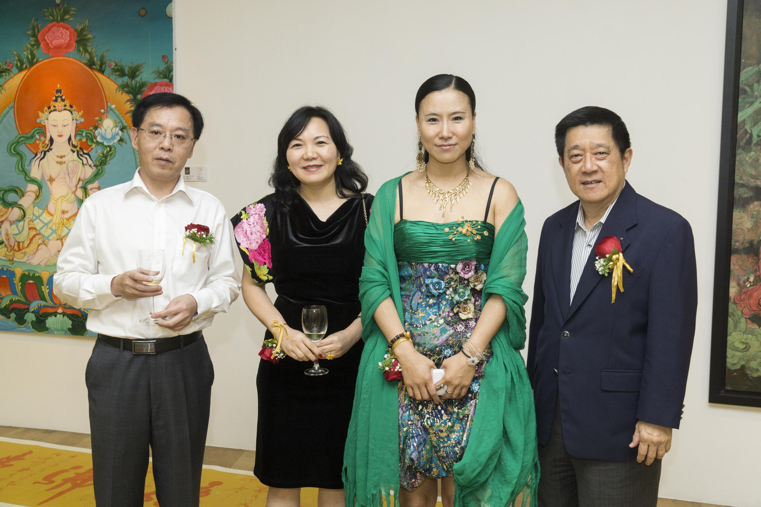 Mr.Xiao Jianghua, Ms.Jenny Zhu HuiMin, Wang Junying & Mr. Choo Thiamsiew