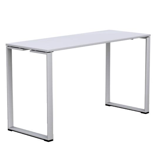White Ståbord   Vit skiva med pulverlackade vita stålben  L 180 X 70 H 103cm   Lagerstatus: i lager