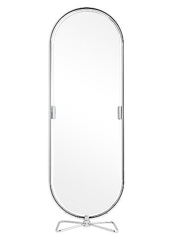 Golvspegel System 123 Mirror   Design Verner Panton 1973  H: 169 cm W: 48 cm   Lagerstatus: I lager
