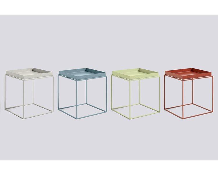 Tray Table color HAY   L:40 cm W:40 cm H:40/44 cm