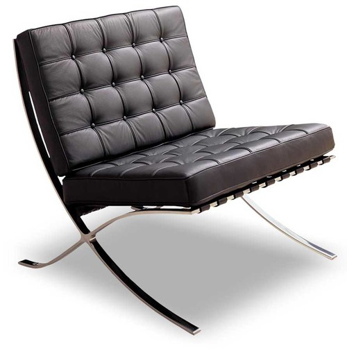 Barcelona Chair - Svart