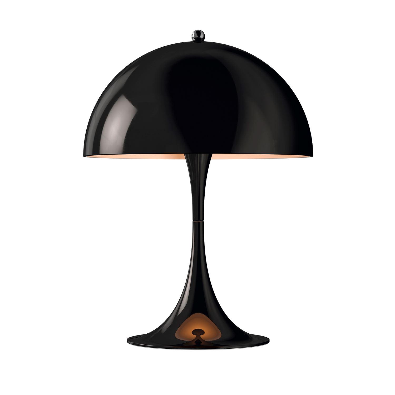 Panthella Mini Bordslampa, Svart