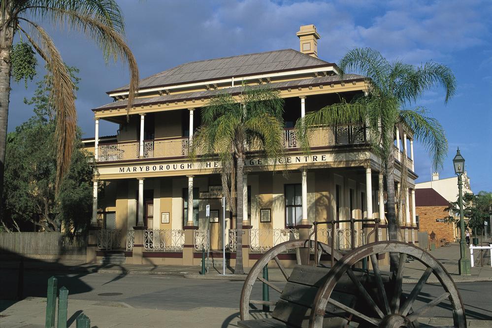 Visit Maryborough heritage centre attraction Kimba Lodge