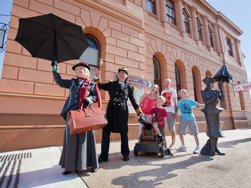 Discover Mary Poppins while in Maryborough Kimba Lodge