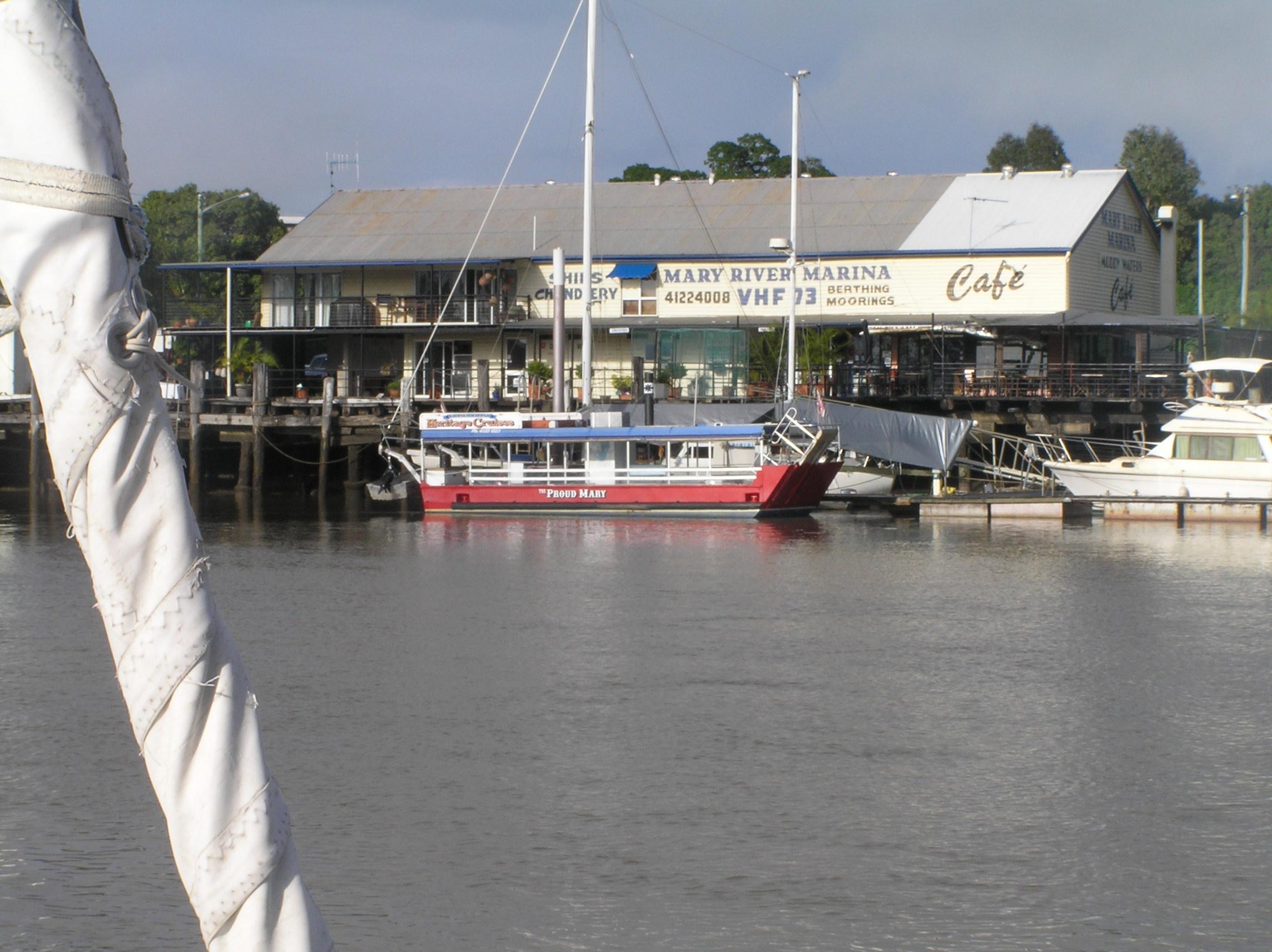 Discover riverside dining at Maryborough wharf Kimba Lodge
