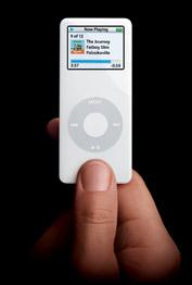 iPod Nano - Populär mp3-spalare från Apple.   Källa: Amazon.com
