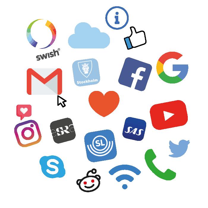 - Du väljer vad du vill ha hjälp med! Din handledare finns på plats för att bistå dig med dina digitala frågor kring alla möjliga digitala appar, tjänster och hemsidor som du vill använda.