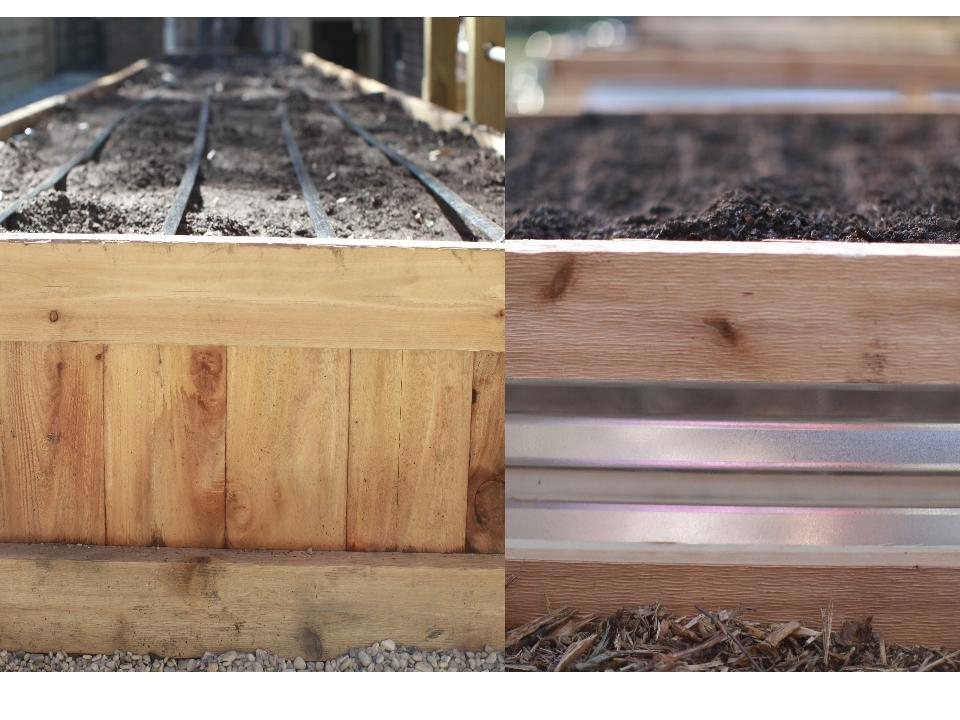 Handcrafted Cedar Raised Beds