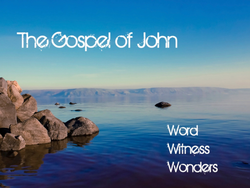 The Gospel of John series. Winter/Spring 2019