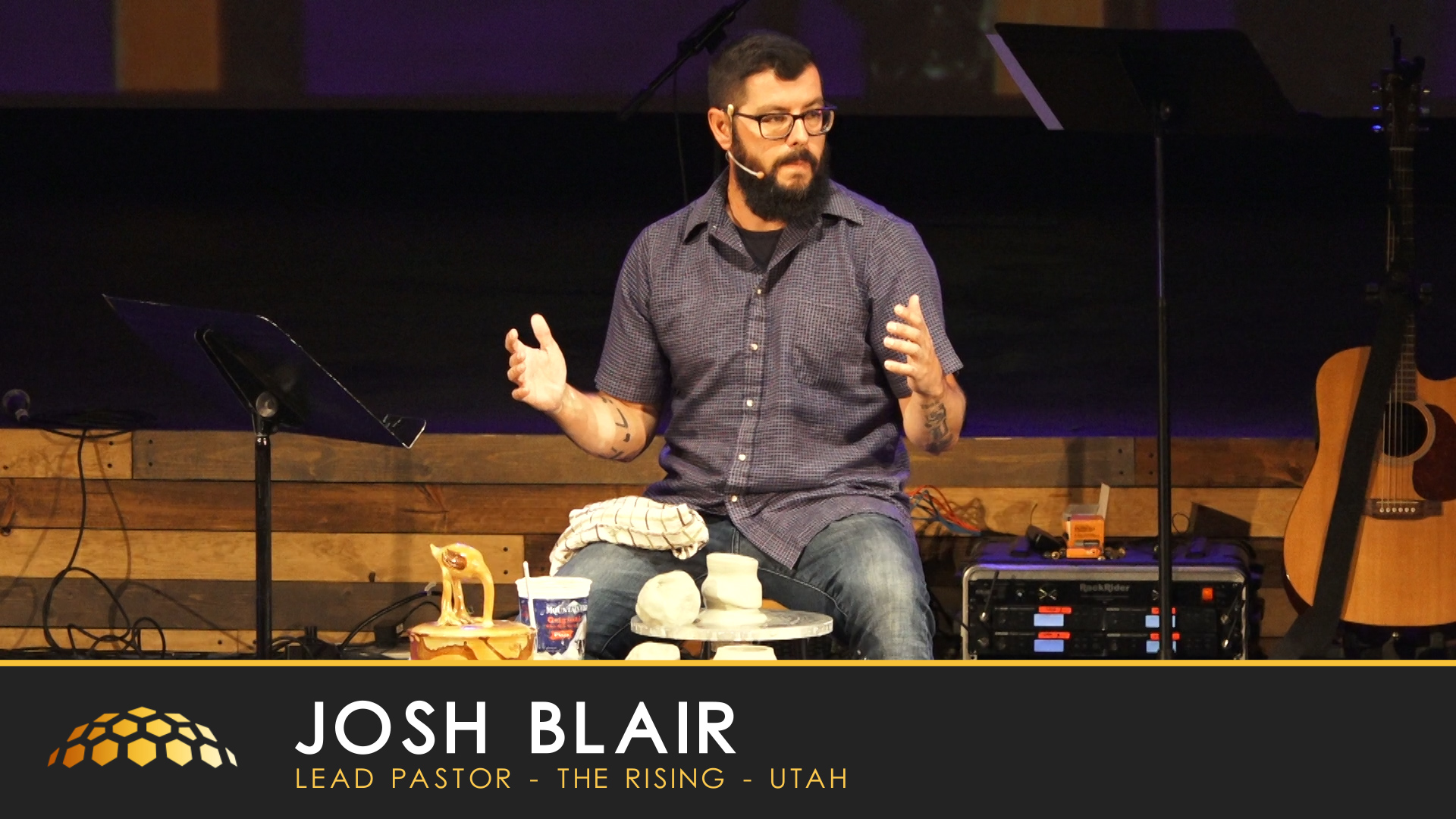 Lessons from the Potter's House   Special Guest, Pastor Josh Blair - August 25, 2019