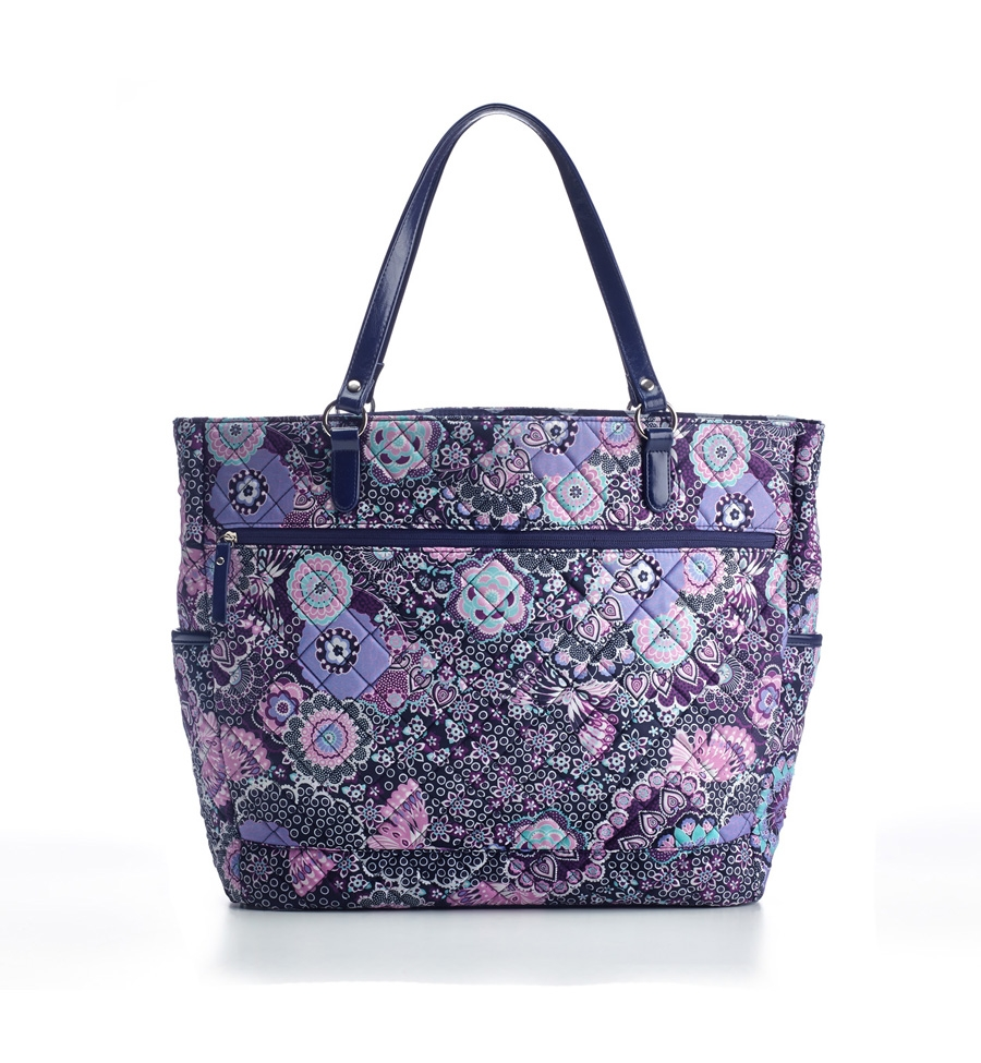 Studio C quilted laptop tote