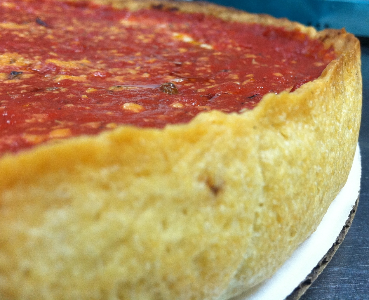 Perfect Deep Dish Crust