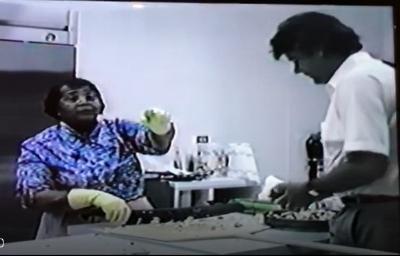 Alice Mae Redmond and Michael Coli, 1989.