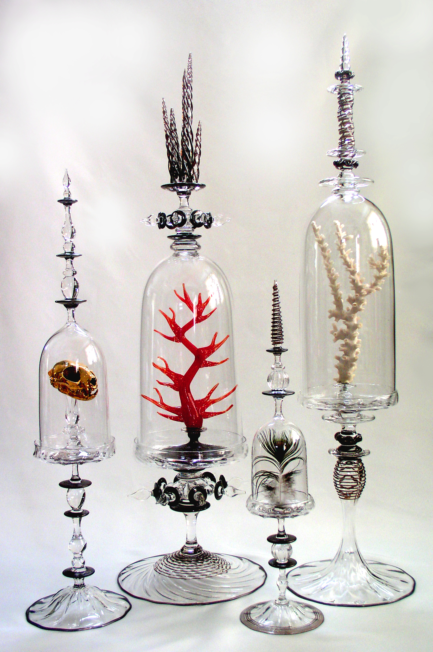 bell jars black