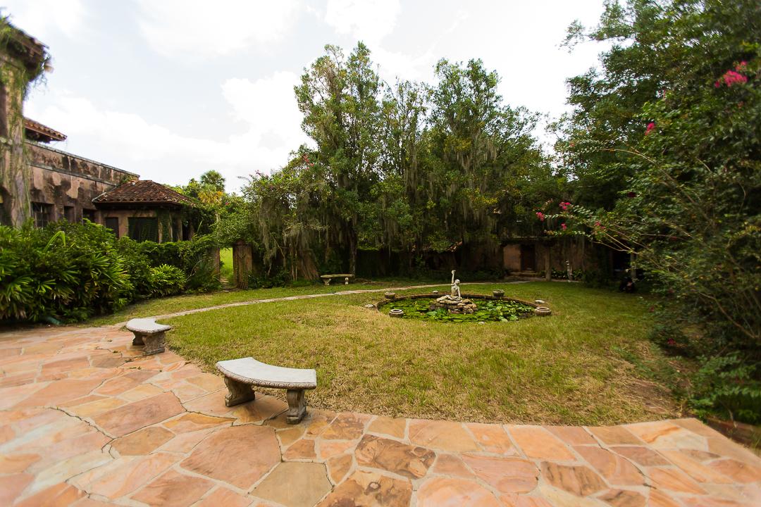 Howey House Backyard