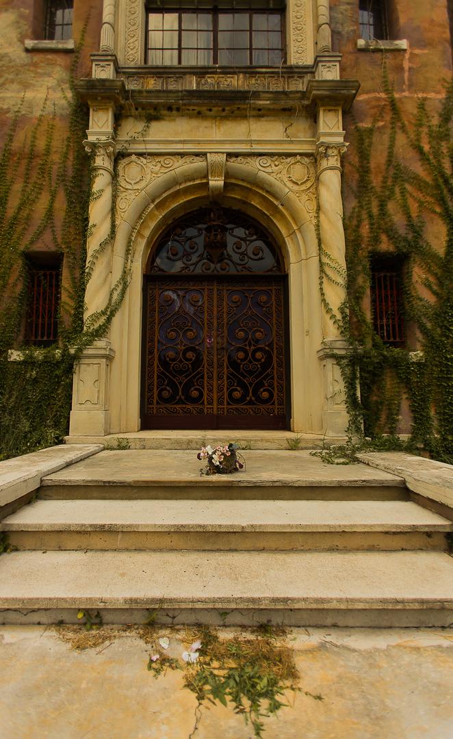 Howey House Outside Door