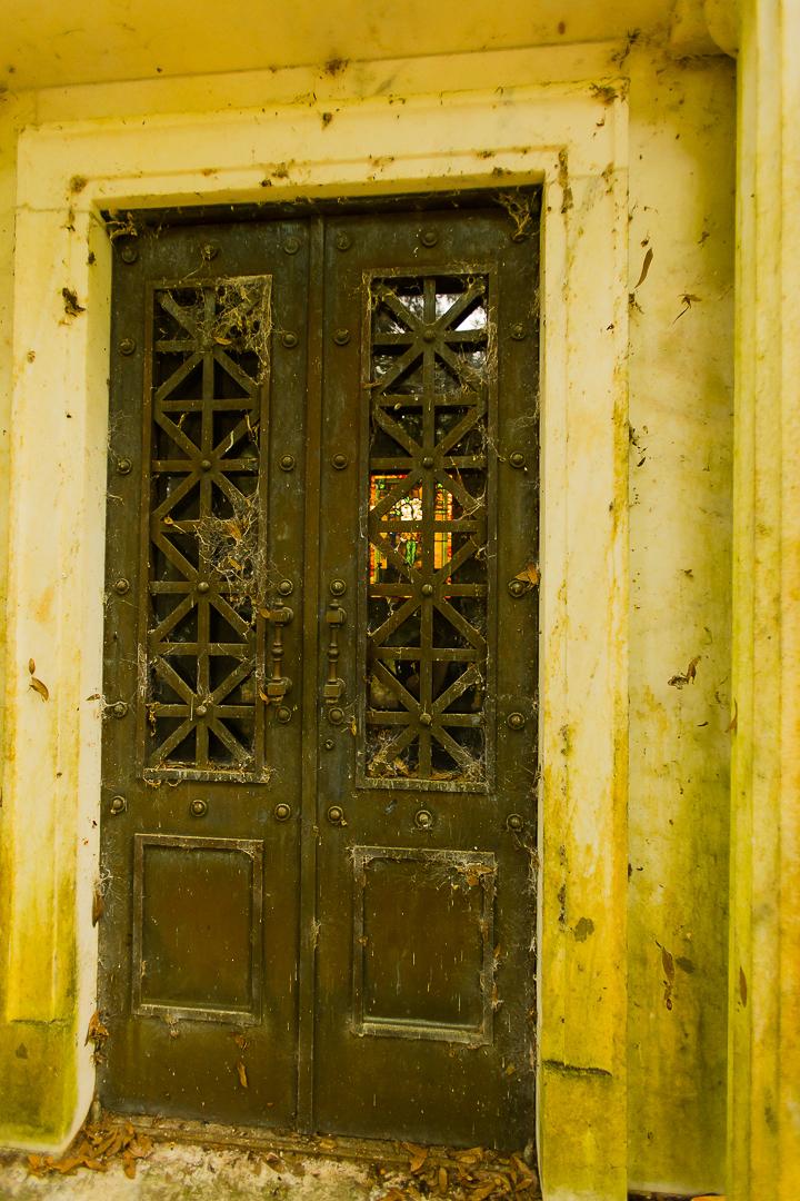 Howey House Mausoleum Door