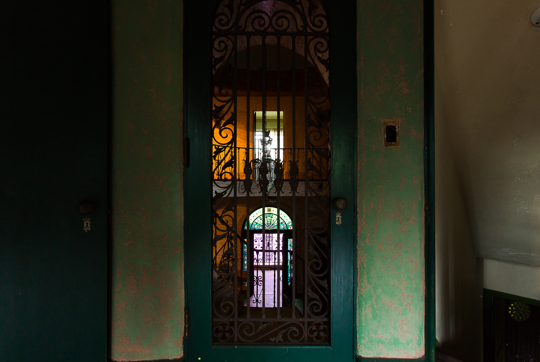Howey House Upstairs Doors