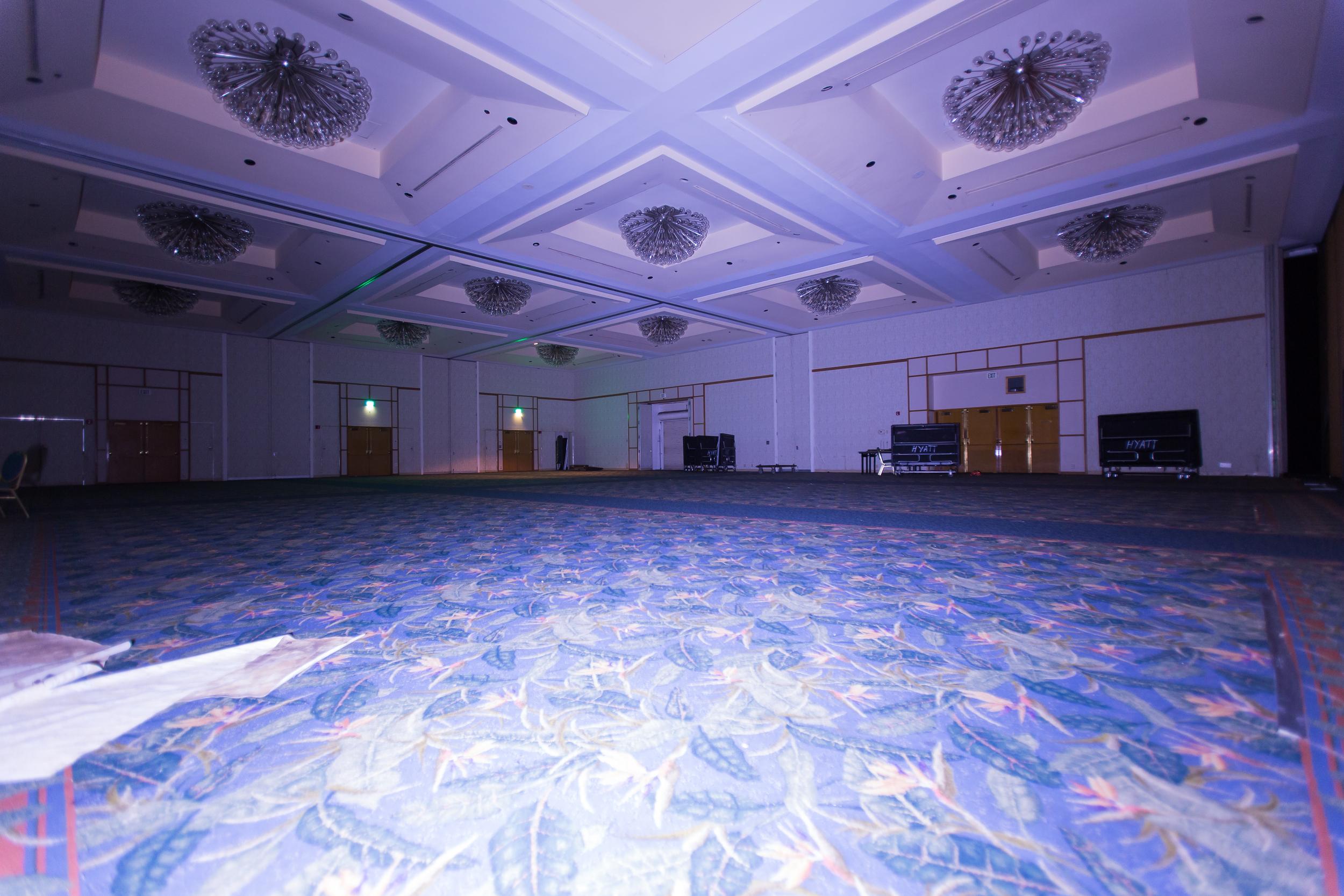 Mold Haus Empty Con Room