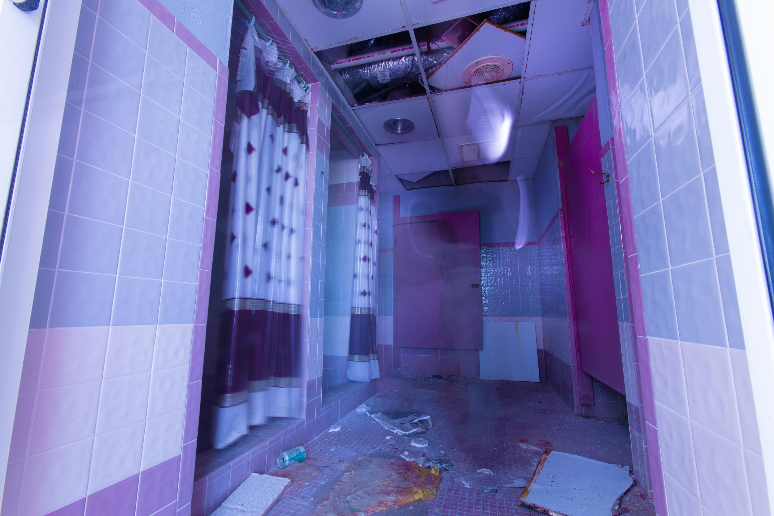 Glass Bank Shower