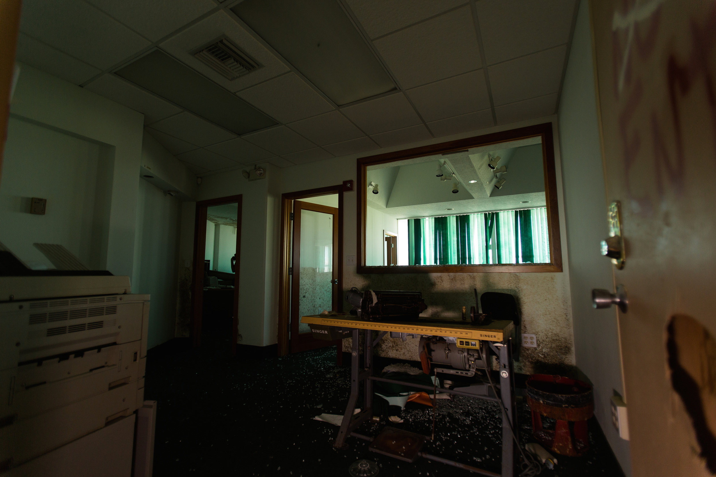 Glass Bank Sewing Office 2