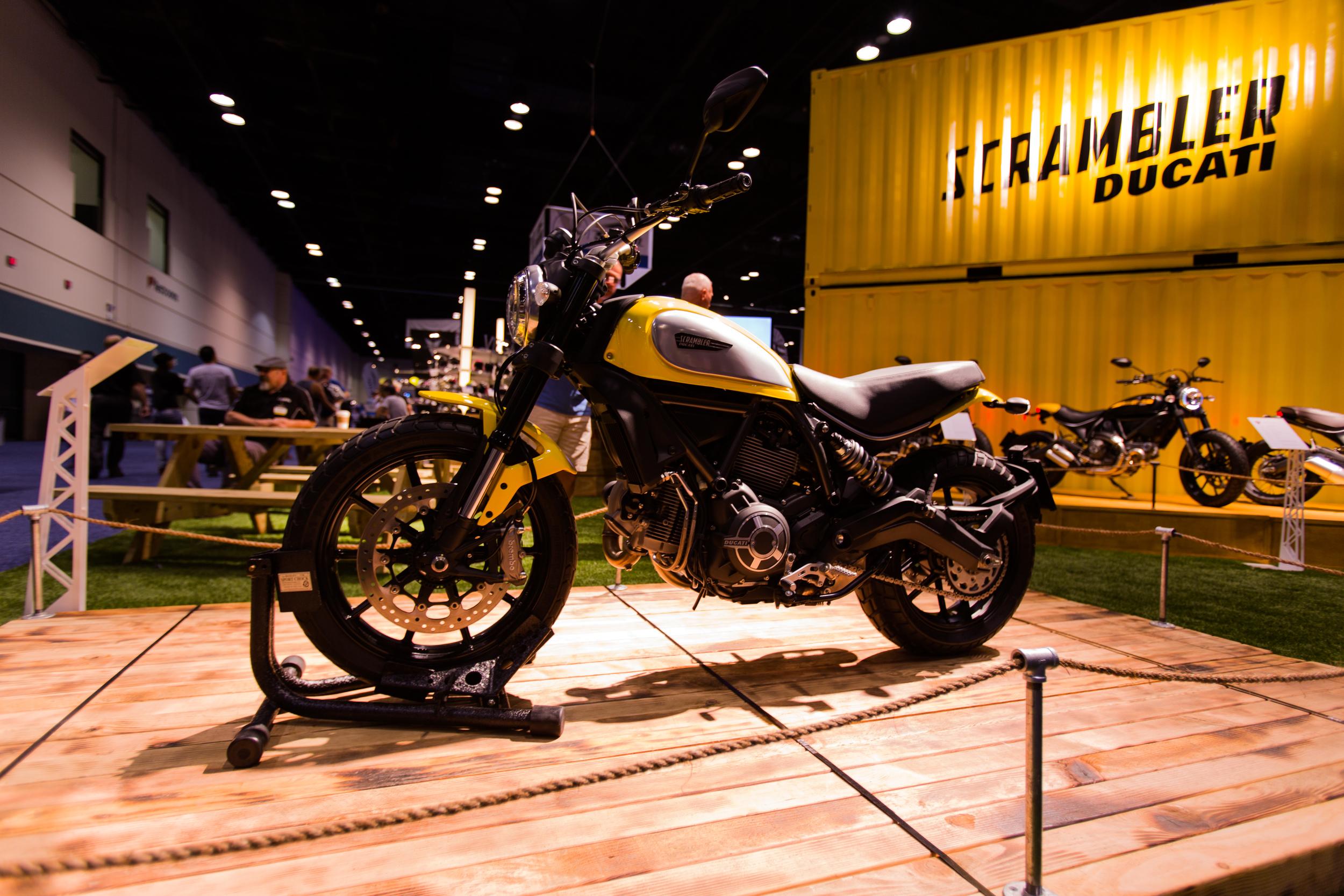 AIM Expo - Ducati Scrambler 1