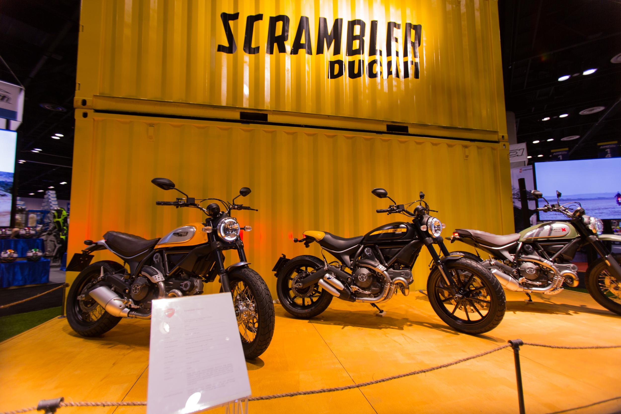 AIM Expo - Ducati Scrambler Models