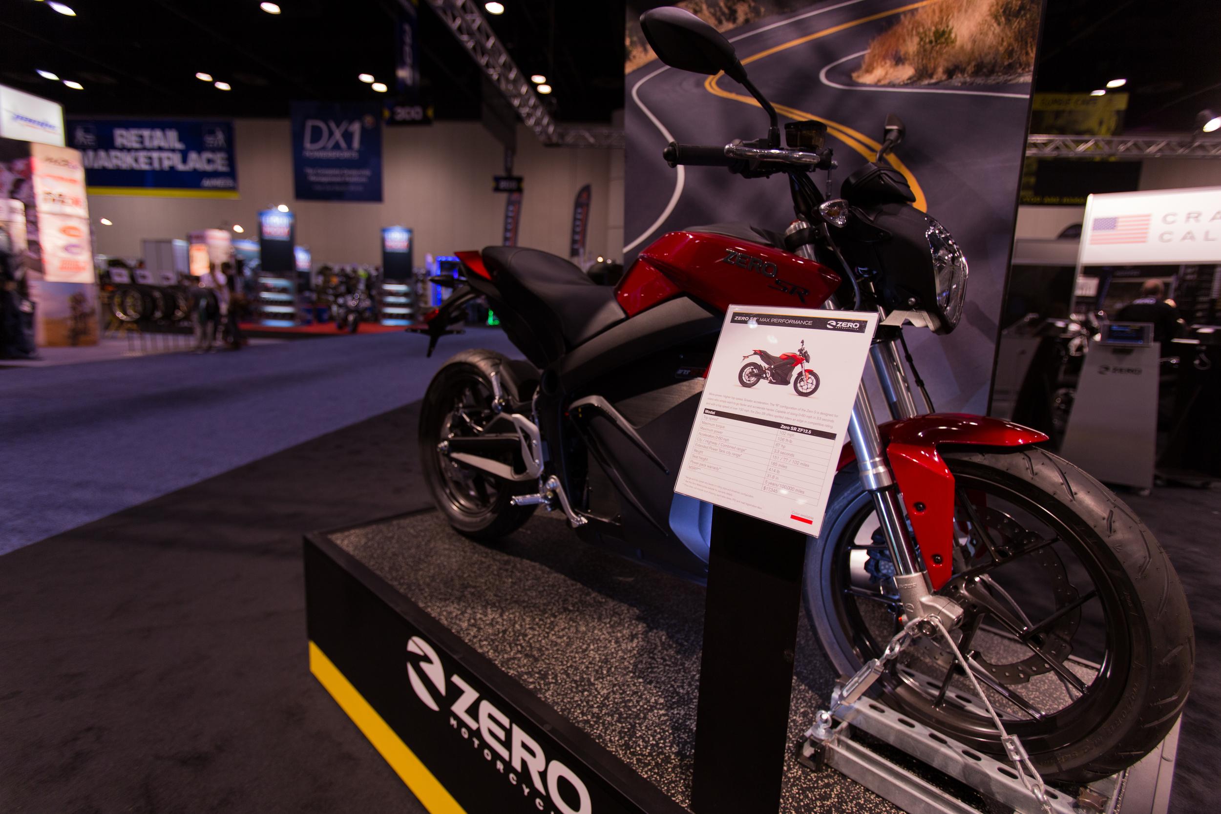 AIM Expo - Zero Motorcycles