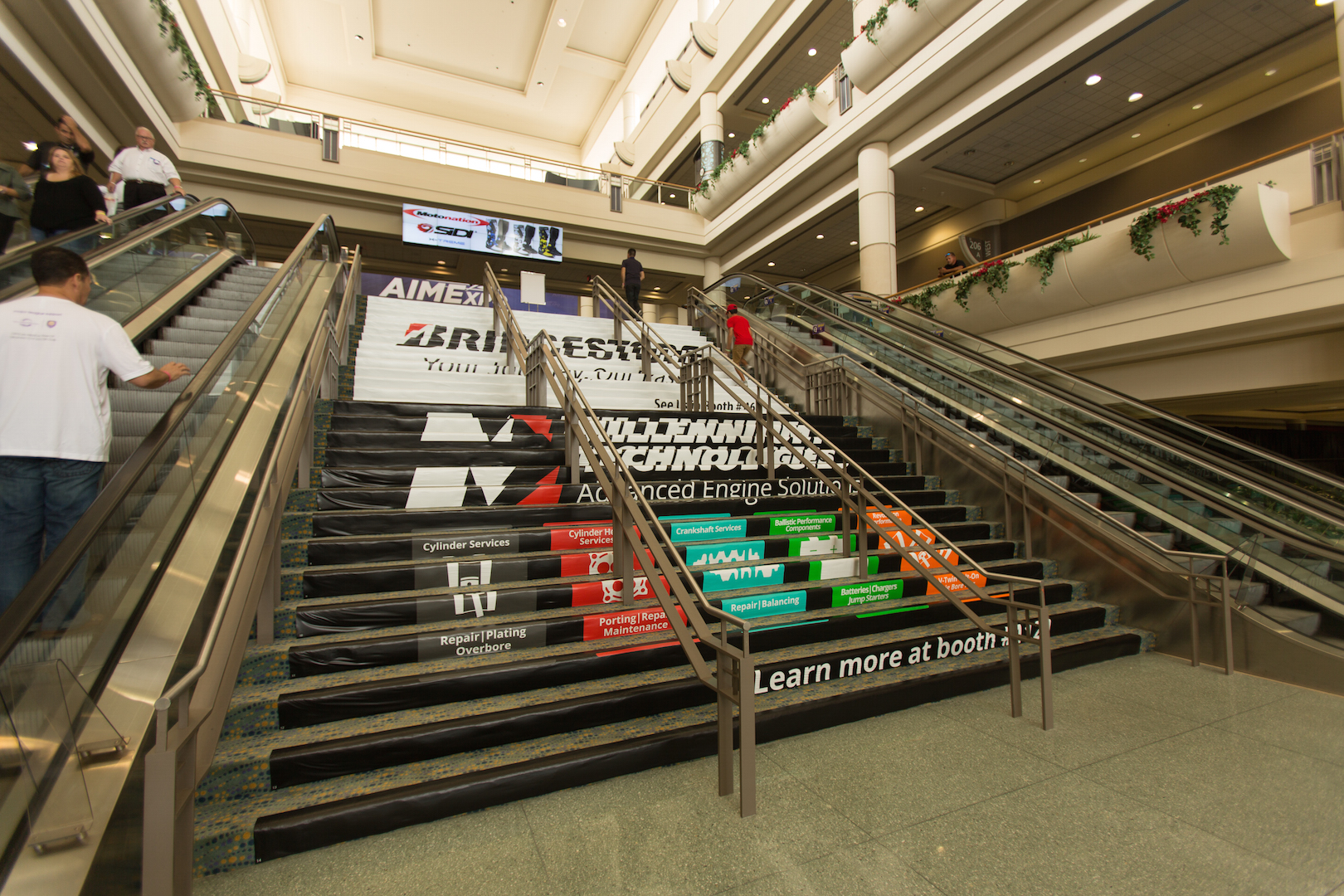 AIM Expo Stairs