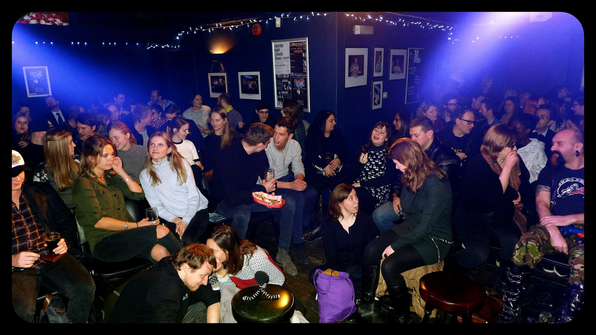 Come be part of our amazing audience, listen to our stories and maybe share one yourself