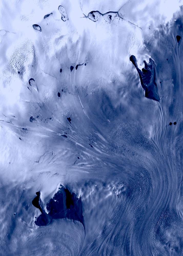 Glaciers, Western Greenland