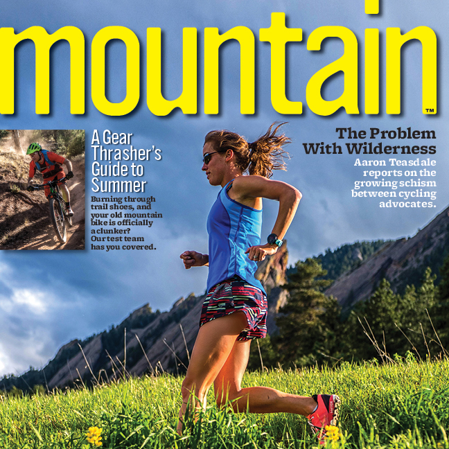 Our K-PAK was featured in the Early Summer issue of Mountain Magazine
