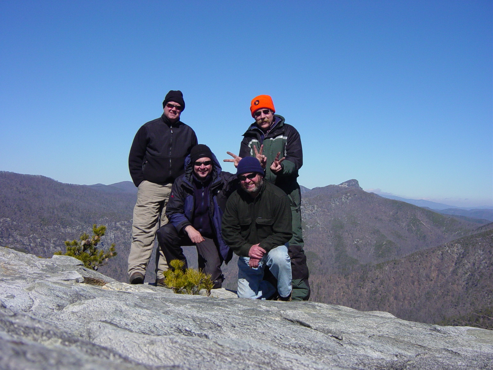 The Folding Boat Co. family at Linville Gorge
