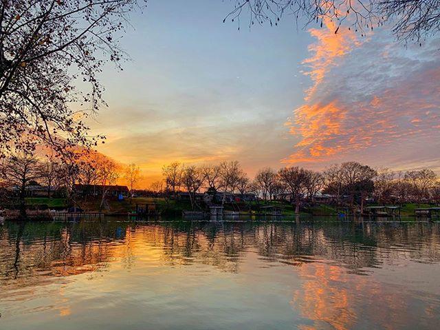 #sunsets never get old here on the river #riverhavenrental