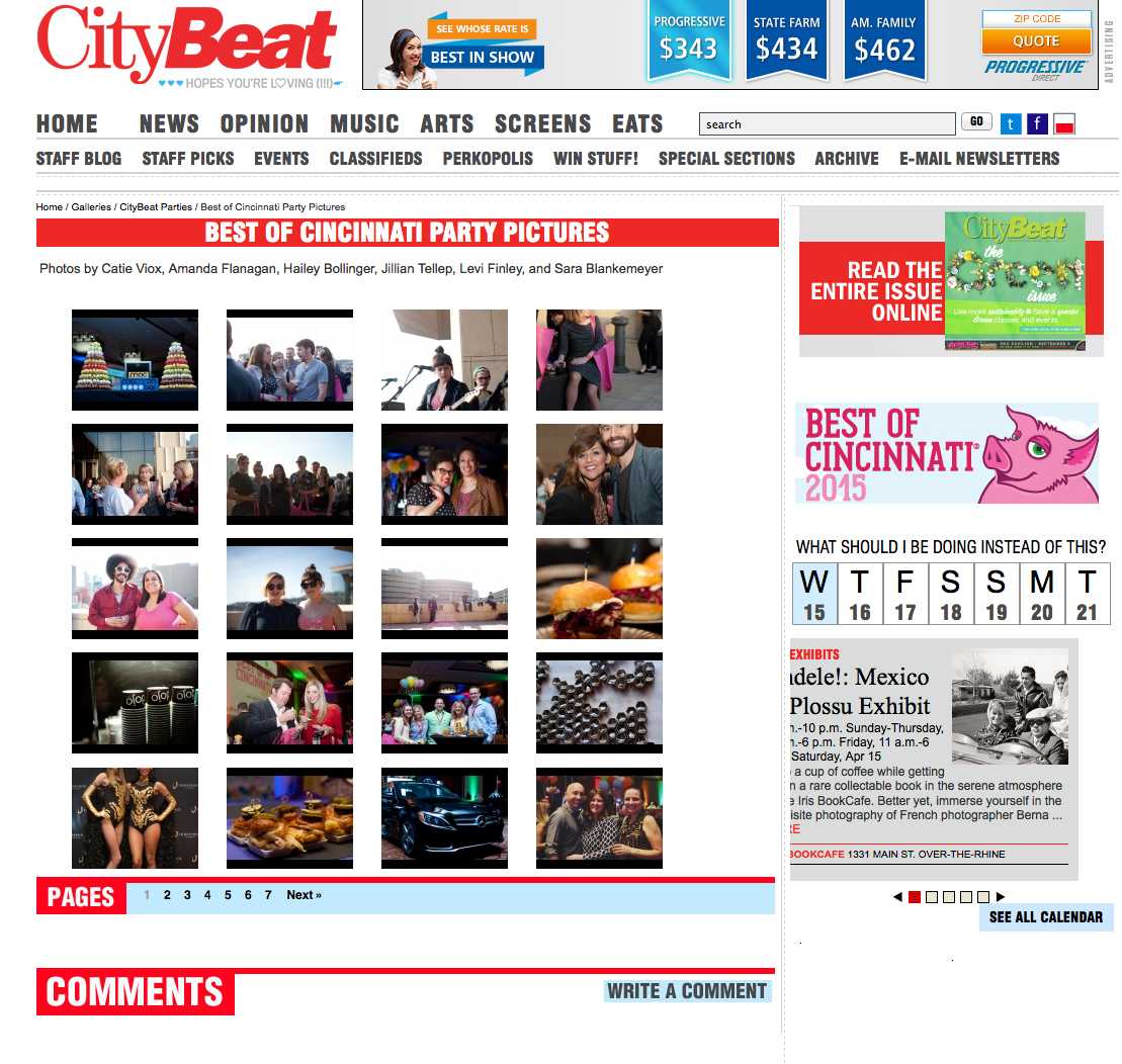 Best of Cincinnati Party 2015