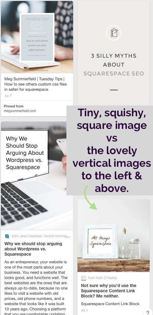 Not PInterest-friendly Blog Graphic