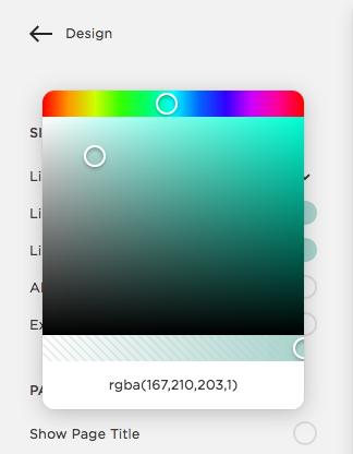 rgba color code Squarespace