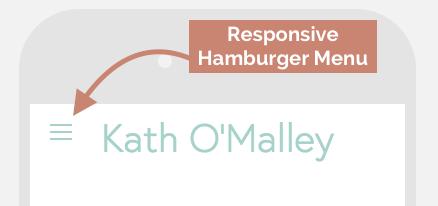 Responsive Hamburger Menu in Squarespace