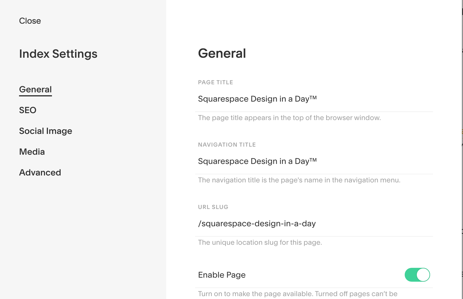 General Index and Page Settings for Squarespace Websites.png