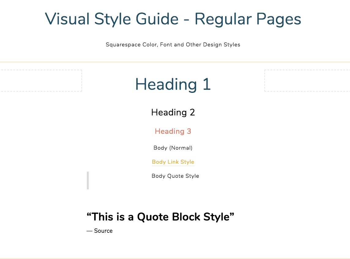 10 Step Guide to Setting Up a Squarespace Website from
